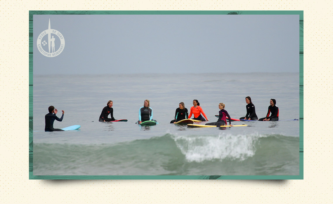 surf camp feminin non mixte